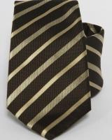 Selyem nyakkendő csíkos 01
