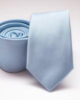 Slim egyszínű poliészer nyakkendő 03
