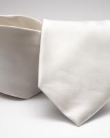 Egyszínű poliészter nyakkendő 02