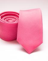 03.Slim egyszínű poliészter nyakkendő