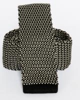 Poliészter Kötött nyakkendő