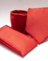 Poliészter nyakkendő díszzsebkendővel 01